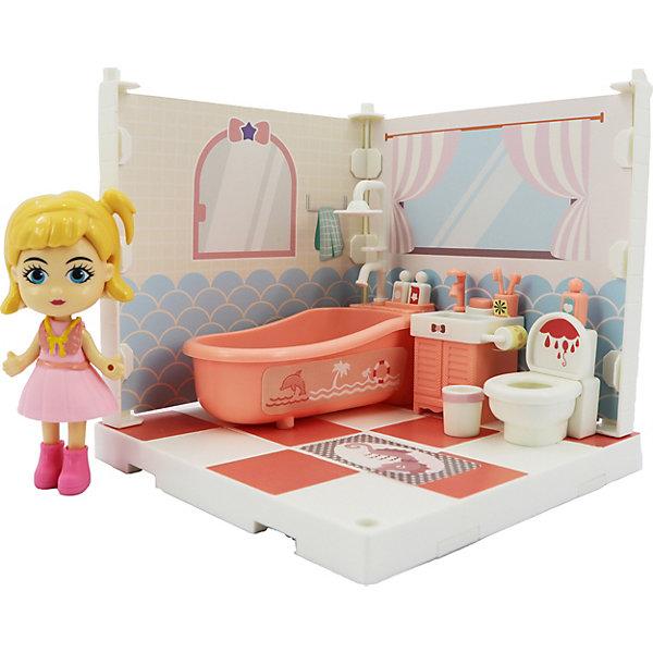 Купить Игровой набор Funky Toys Милый уголок Ванная комната , Китай, разноцветный, Женский