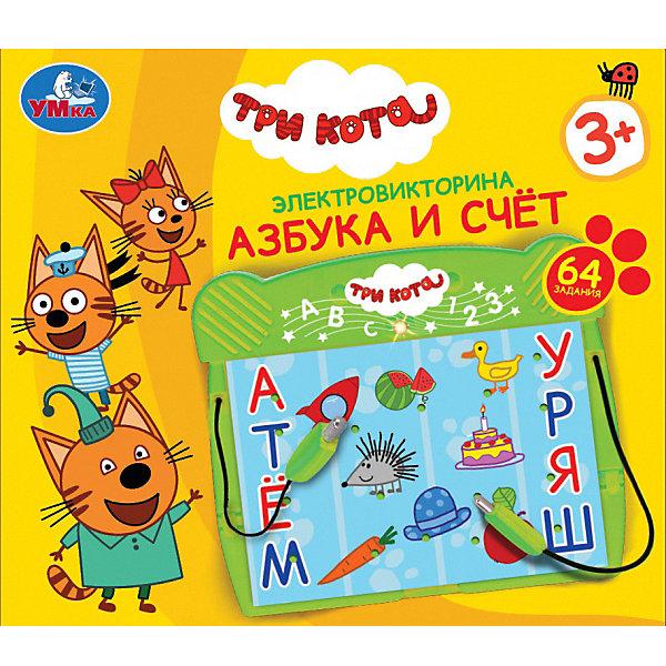 """Картинка для Умка Электровикторина Умка """"Три кота. Азбука и счёт"""""""
