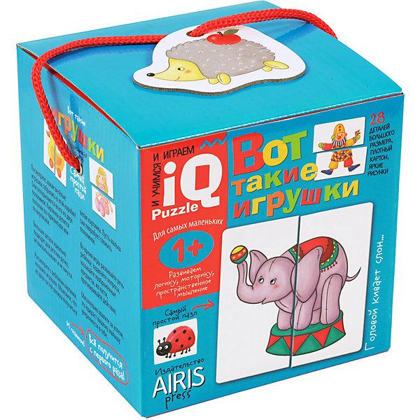Купить Пазлы Айрис-пресс Вот такие игрушки , АЙРИС-пресс, Россия, Унисекс