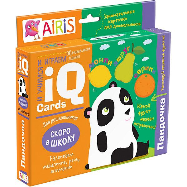 АЙРИС-пресс Набор занимательных карточек для дошколят Пандочка айрис пресс занимательные карточки для дошколят львенок