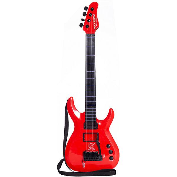 Junfa Toys Гитара Junfa Toys, свет, звук junfa toys гитара 5599b 1 белый черный