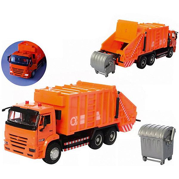 Serinity Toys Коллекционная машина Serinity Toys Мусоровоз КАМАЗ, 1:38