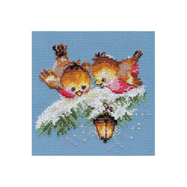 Купить Набор для вышивания Алиса На огонек 14х13 см, Россия, Унисекс