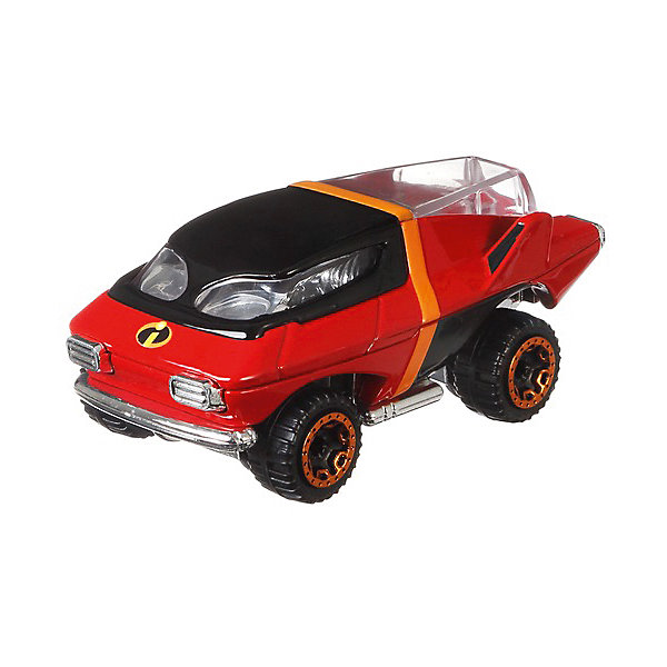 Премиальная машинка Hot Wheels Персонажи Disney Мистер Исключительный Mattel 16693512