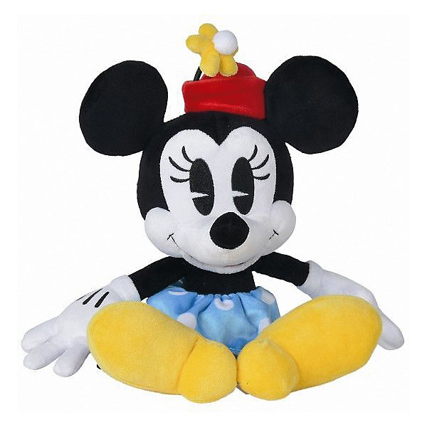Nicotoy Мягкая игрушка Nicotoy Минни Маус ретро стиль, 25 см