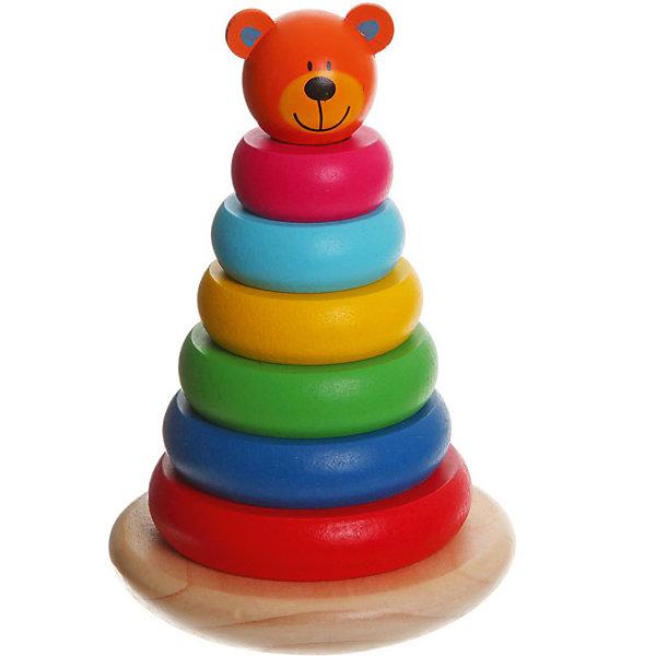Картинка для Bondibon Пирамидка Bondibon Baby You Медвежонок