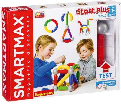 Bondibon Магнитный конструктор Bondibon SmartMax Start Plus, 30 деталей