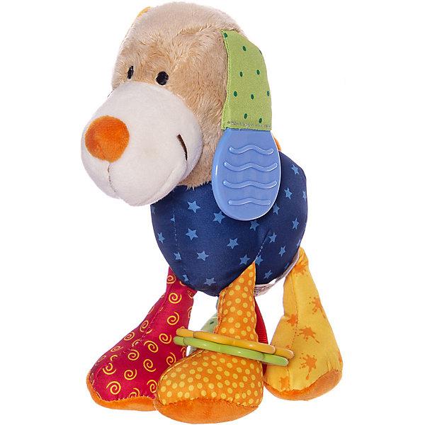 Sigikid Развивающая мягконабивная игрушка Sigikid Активный Малыш Собачка PlayQ
