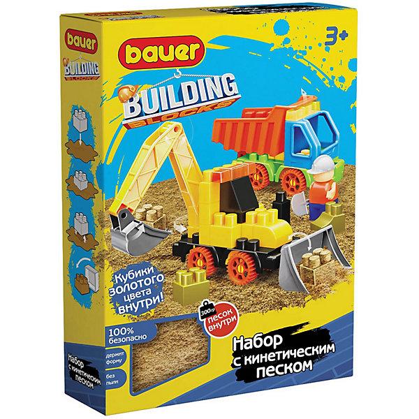Bauer Конструктор Bauer Building Kinetic с трактором и грузовиком bauer конструктор bauer building kinetic набор с бульдозером