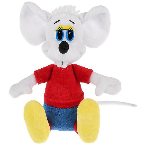 """Мягкая игрушка озвученная Мульти-Пульти """"Белый мышонок"""""""