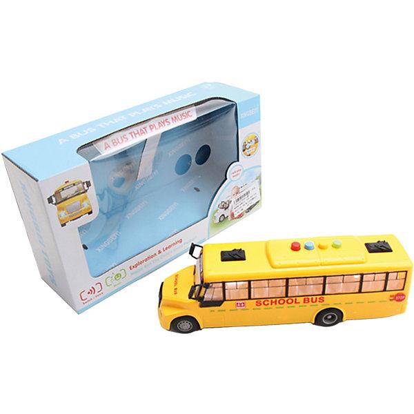 Картинка для Наша Игрушка Школьный автобус Наша Игрушка, инерционный