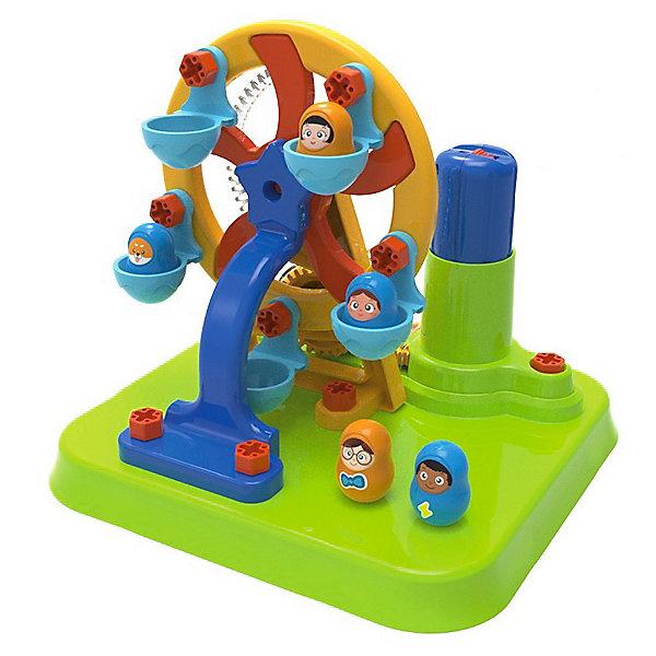 Купить Конструктор Edu-Toys Колесо обозрения, 46 деталей, Китай, разноцветный, Унисекс