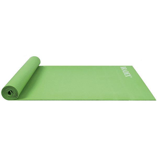 Bradex Коврик Bradex для йоги и фитнеса товары для йоги bradex коврик для йоги 173х61 см