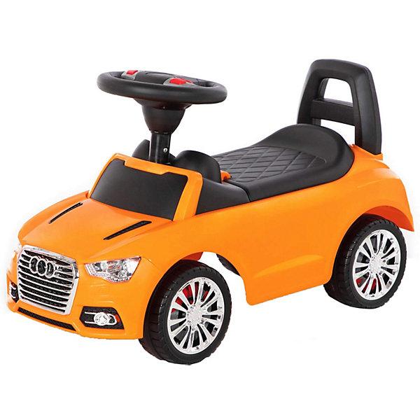 Купить Каталка-автомобиль Полесье SuperCar №2, звук, Беларусь, оранжевый, Унисекс