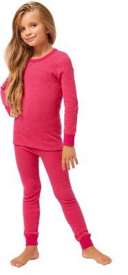 детское термобелье и флис Montero Термобелье для девочек Cotton Comfort Everyday MCLCCEG0102/темнорозовый