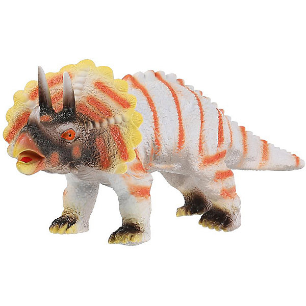 Купить Игровая фигурка Играем вместе Рассказы о животных Динозавр трицератопс, озвученная, Китай, Унисекс