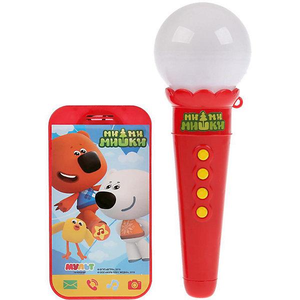 Купить Игровой набор Умка Мимимишки Телефон и микрофон, 6 песен, Китай, Унисекс