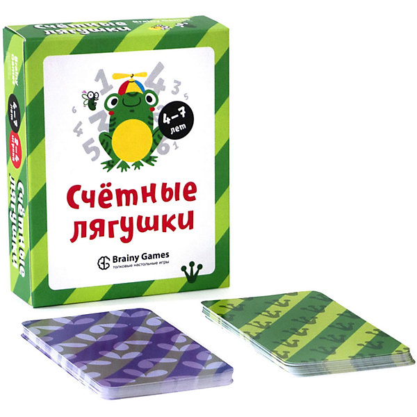 Brainy Games Настольная игра Brainy Games Счётные лягушки
