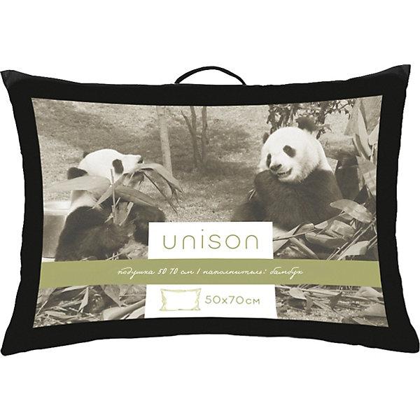 Купить Подушка Unison Bamboo 50*70 средняя, Унисон, Россия, белый, Унисекс