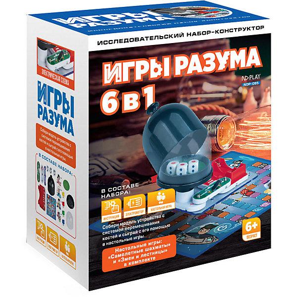 Купить Электронный конструктор ND Play Игры разума, 6 в 1, Китай, разноцветный, Унисекс