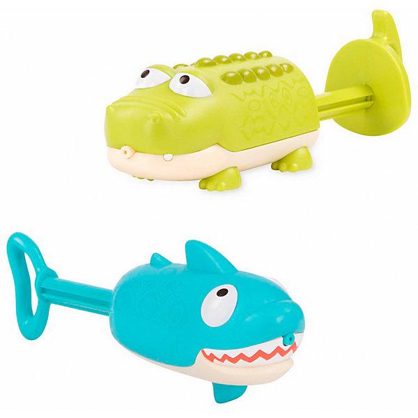 Купить Игрушка для купания B.Toys Крокодил и акула, Китай, разноцветный, Унисекс