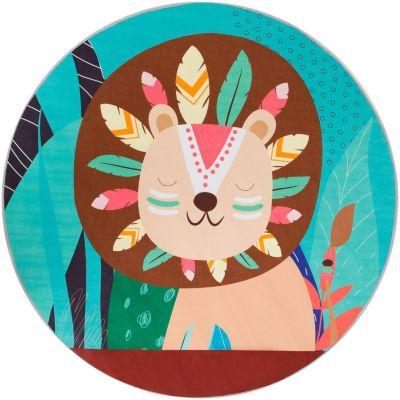 Фото - Крошка Я Ковер Крошка Я Лев, диаметр 120 см 0 я лев