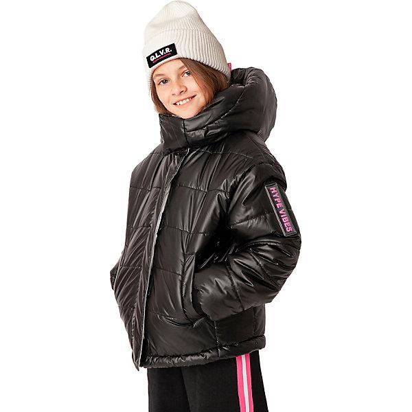 Купить Куртка Gulliver, Китай, черный, 170, 158, 152, 146, 134, 164, 140, Женский