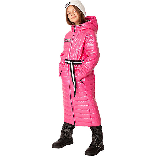 Купить Пальто Gulliver, Китай, розовый, 134, 140, 170, 164, 158, 152, 146, Женский