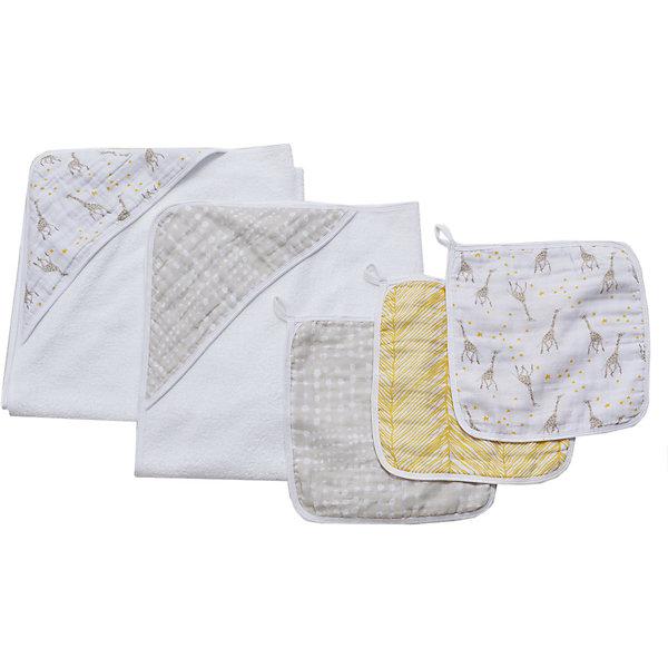 Купить Набор полотенец для лица и рук Aden Anais Starry star, 3 шт, aden+anais, США, Унисекс