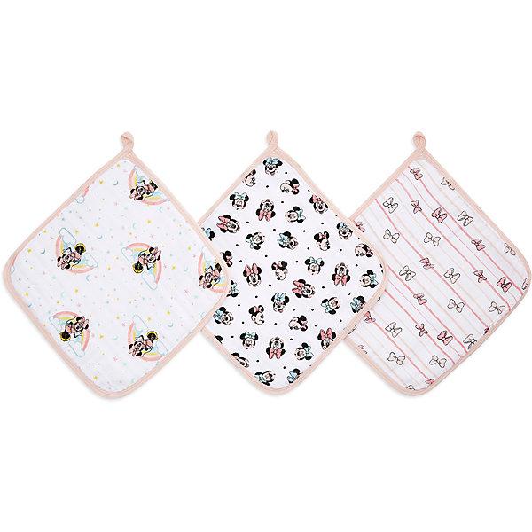 Купить Набор полотенец для лица и рук Aden Anais Minnie star, 3 шт, aden+anais, США, Унисекс