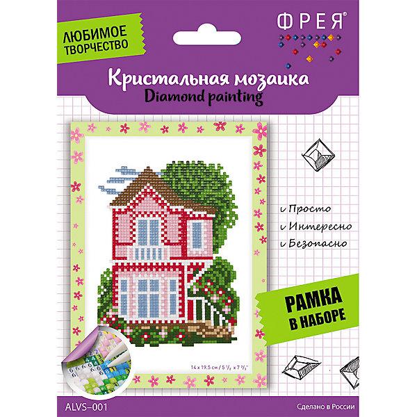 Купить Алмазная мозаика Фрея Домик , 19, 5х14 см, Россия, Унисекс