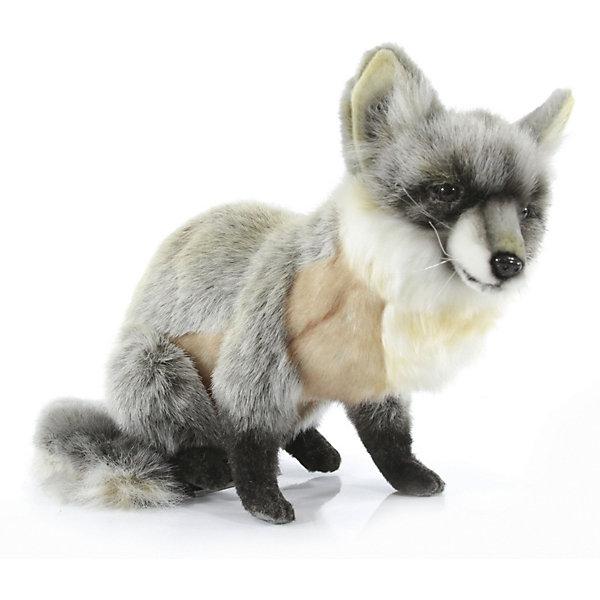 Фото - Hansa Мягкая игрушка Hansa Серая лиса сидящая, 30 см мягкая игрушка hansa лиса 90 см
