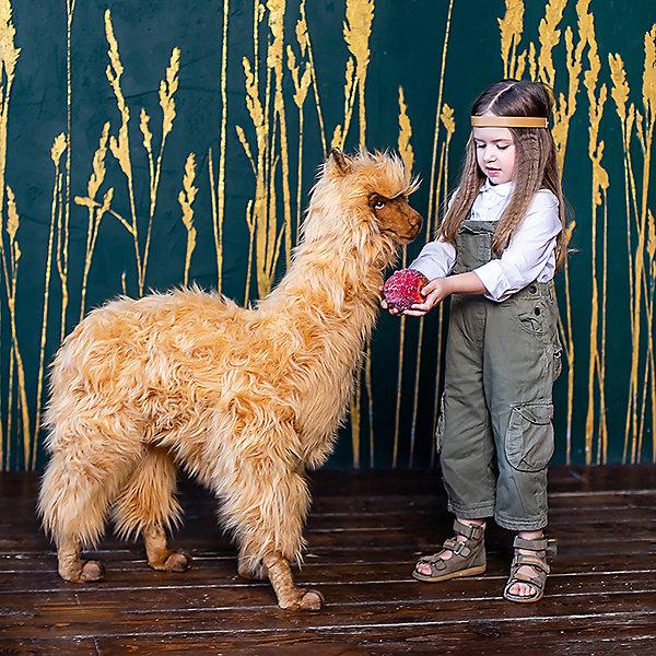 Мягкая игрушка Hansa Альпака, 100 см