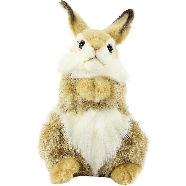 Hansa Мягкая игрушка Hansa Коричневый кролик, 24 см hansa fceb53000 коричневый