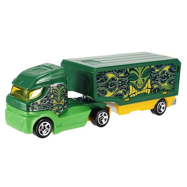 Машинка Hot Wheels Грузовик-трейлер, Mattel, Китай, Мужской  - купить со скидкой