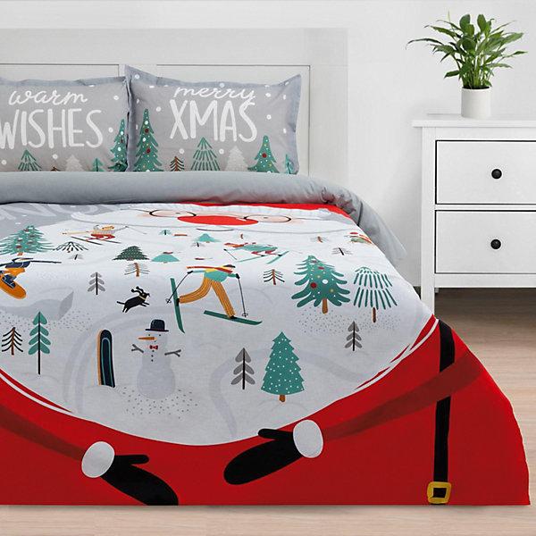 Фото - Этель Комплект постельного белья 1,5 спальный Этель Warm wishes комплект постельного белья wenge bandstar 513364 1 5 спальный наволочки 70x70