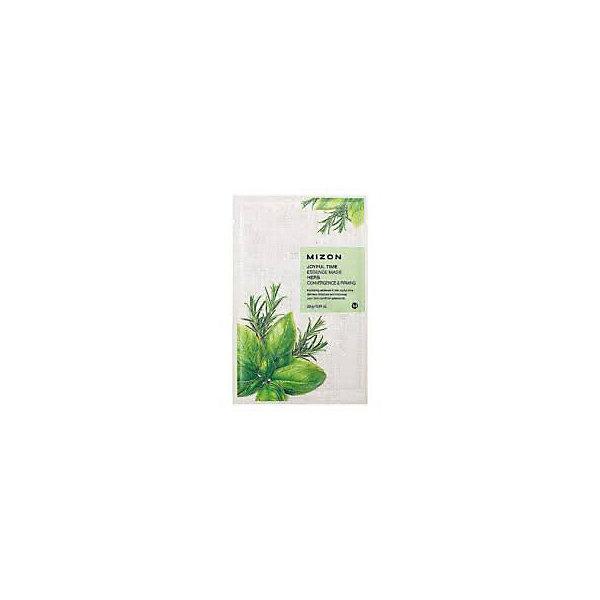 Купить Тканевая маска для лица с комплексом травяных экстрактов Mizon Joyful Time Essence, 23 мл, Корея, Унисекс