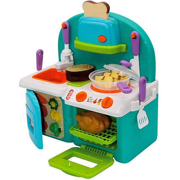 Джамбо Тойз Кухня с аксессуарами и водой Джамбо Тойз, свет, звук детская кухня с аксесс свет звук bt543406 1 kari
