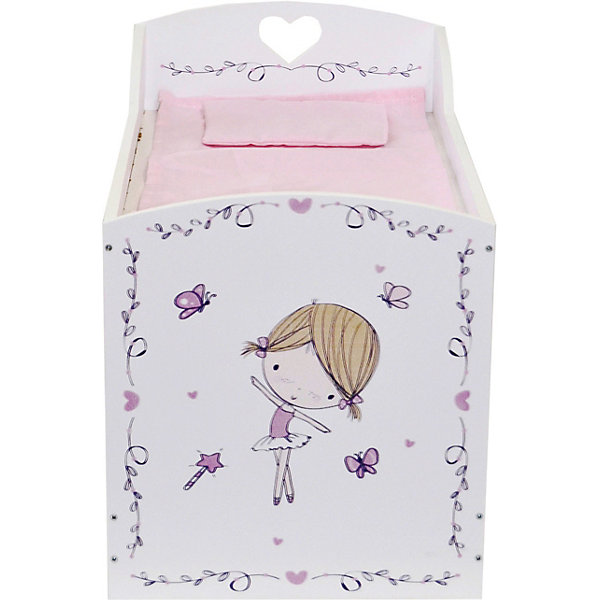 """Двухярусная кроватка с системой хранения Paremo """"Пьемонт"""" Альбертина Мини   17137354"""