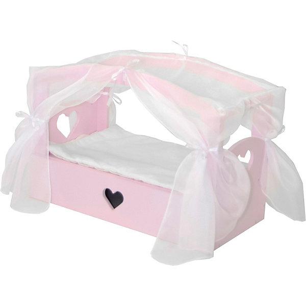 Купить Кроватка с бельевым ящиком Paremo Любимая кукла , Россия, разноцветный, Женский