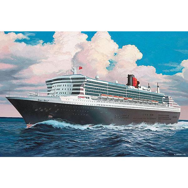 Лайнер Queen Mary 2 (1:1200)Корабли и подводные лодки<br>Характеристики товара:<br><br>• ISBN:4009803058085;<br>• возраст: от 10 лет;<br>• масштаб: 1:1200;<br>• количество деталей: 45 шт;<br>• материал: пластик; <br>• клей и краски в комплект не входят;<br>• длина модели: 28,7 см;<br>• бренд, страна бренда: Revell (Ревел),Германия;<br>• страна-изготовитель: Китай.<br><br>Сборная модель «Лайнер Queen Mary 2» поможет вам и вашему ребенку придумать увлекательное занятие на долгое время. Корабль выполнен в масштабе 1:1200. Игрушка имеет высокую степень детализации, что делает ее точной копией настоящего морского судна. <br><br>Корабль является флагманом британской судоходной компании Cunard Line. Был спущен на воду в 2003 году. На данным момент Queen Mary 2 является единственным судном курсирующий по трансатлантической линии Саутгемптон — Нью-Йорк. <br><br>Модель для склеивания включает в себя 45 пластиковых элементов, а также подробную инструкцию. Готовый флагман можно установить на подставку, входящую в набор, и он украсит стол или книжную полку ребенка. Обращаем ваше внимание на тот факт, что для сборки этой модели клей и краски в комплект не входят. <br><br>Процесс сборки развивает интеллектуальные и инструментальные способности, воображение и конструктивное мышление, а также прививает практические навыки работы со схемами и чертежами.<br><br>Сборную модель «Лайнер Queen Mary 2», 45 дет., Revell (Ревел) можно купить в нашем интернет-магазине.<br>Ширина мм: 183; Глубина мм: 46; Высота мм: 311; Вес г: 220; Возраст от месяцев: 168; Возраст до месяцев: 1164; Пол: Мужской; Возраст: Детский; SKU: 1720802;