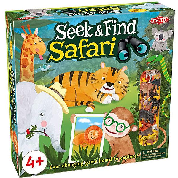 Купить Настольная игра Tactic Seek & Find Safari, Финляндия, Унисекс