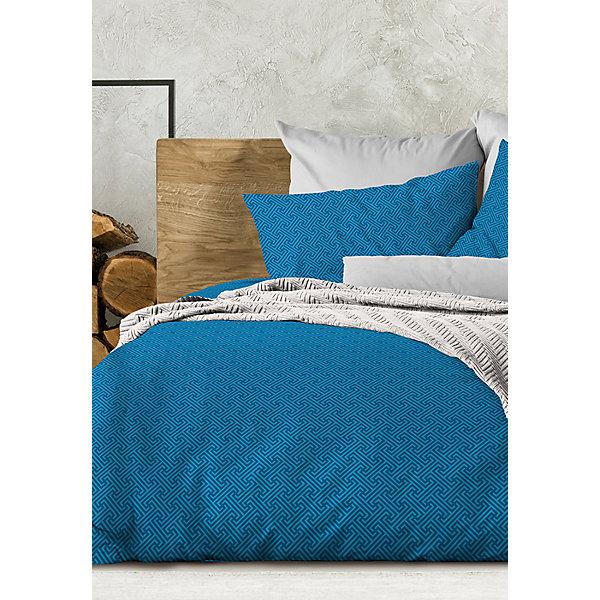 Фото - Wenge Комплект постельного белья Wenge Silver azure, 2-спальное комплект постельного белья wenge bandstar 513364 1 5 спальный наволочки 70x70