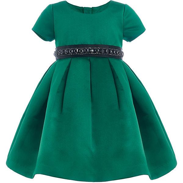 Нарядное платье Gulliver зеленого цвета
