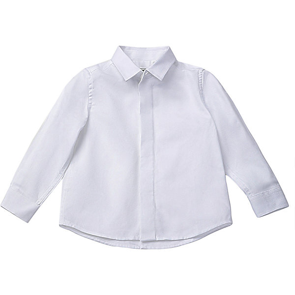 Рубашка Gulliver цвет белый/серый