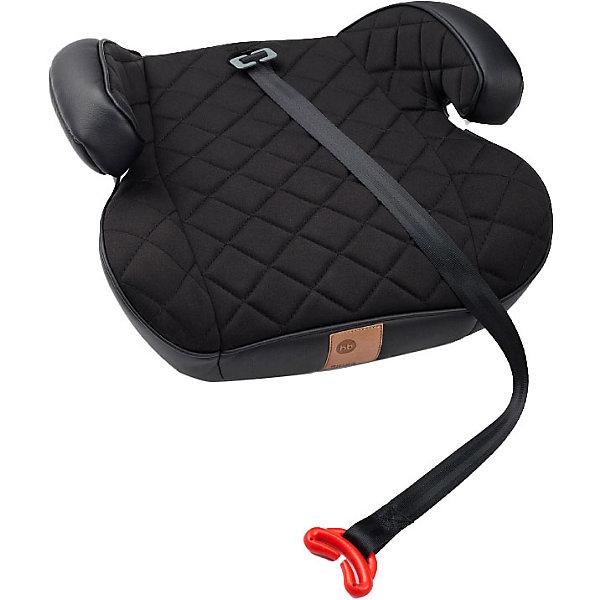Бустер Rider 15-36 кг, чёрный Happy Baby 17590891
