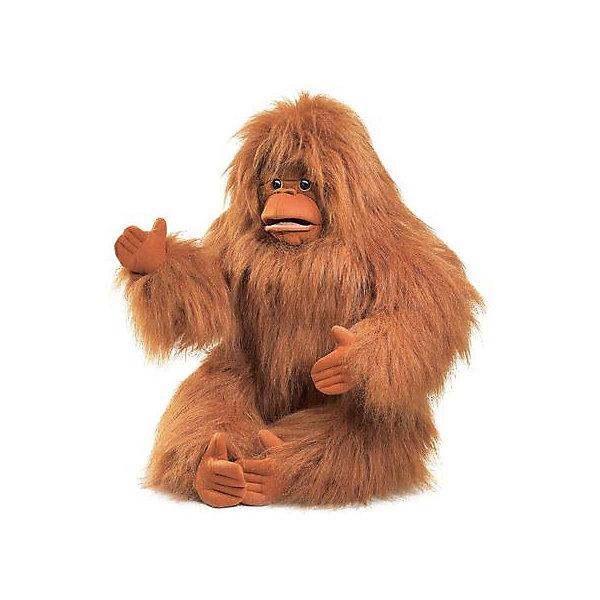 Folkmanis Мягкая игрушка на руку Folkmanis Орангутанг, 63 см тушь с эффектом распахнутых ресниц isadora stretch lash mascara