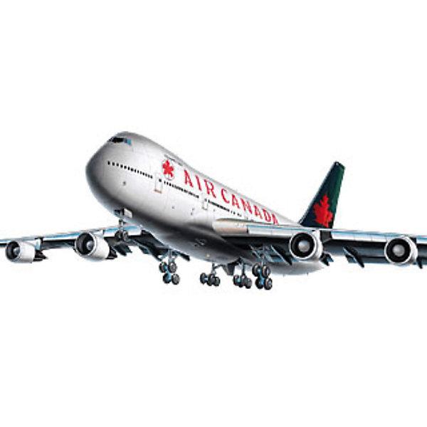Боинг 747-200, 1:390, (3)Самолеты и вертолеты<br>Характеристики товара:<br><br>• возраст: от 10 лет;<br>• масштаб: 1:144;<br>• количество деталей: 60 шт;<br>• материал: пластик;<br>• клей и краски в комплект не входят;<br>• длина модели: 18,3 см;<br>• размах крыльев: 15,6 см;<br>• бренд, страна бренда: Revell (Ревел), Германия;<br>• страна-изготовитель: Польша.<br><br>Набор для сборки « Боинг 747-200» поможет вам и вашему ребенку придумать увлекательное занятие на долгое время и весело провести свой досуг. <br><br>Компоновка двухпалубного самолета включает в себя два пассажирских салона двух классов нижней палубы - Эконом и Бизнес, а также один салон верхней палубы - Бизнес класса.<br><br>В набор входят 60 пластиковые детали, которые помогут воссоздать точную деталлизированную копию самолета. Детали можно собрать и без помощи клея, на защелки, согласно инструкции. Готовый боинг украсит стол или книжную полку ребенка. Краски и клей в комплект не входят.<br><br>Процесс сборки развивает интеллектуальные и инструментальные способности, воображение и конструктивное мышление, а также прививает практические навыки работы со схемами и чертежами. <br><br>Набор для сборки « Боинг 747-200», 60 дет., Revell (Ревел) можно купить в нашем интернет-магазине.<br>Ширина мм: 200; Глубина мм: 100; Высота мм: 50; Вес г: 50; Возраст от месяцев: 144; Возраст до месяцев: 1188; Пол: Мужской; Возраст: Детский; SKU: 1772970;
