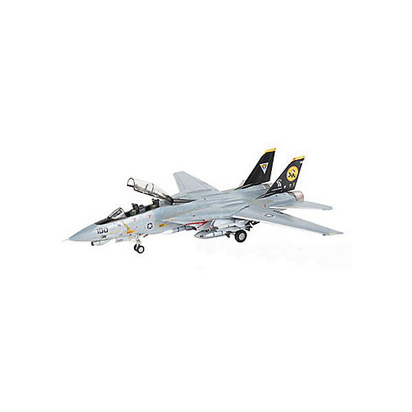 Истребитель F-14D Super Tomcat (1:144)Самолеты и вертолеты<br>Характеристики товара:<br><br>• возраст: от 10 лет;<br>• масштаб: 1:144;<br>• количество деталей: 57 шт;<br>• материал: пластик; <br>• клей и краски в комплект не входят;<br>• длина модели: 13,4 см;<br>• размах крыльев: 13 см;<br>• бренд, страна бренда: Revell (Ревел), Германия;<br>• страна-изготовитель: Польша.<br><br>Набор для сборки «Истребитель F-14D Super Tomcat» поможет вам и вашему ребенку придумать увлекательное занятие на долгое время и весело провести свой досуг. Модель отличается высокой степенью детализации поверхности. Шасси истребителя могут быть установлены в двух положениях. Модель оснащена проработанной деколью.<br><br>В набор входят 57 пластиковых деталей, которые помогут воссоздать истребитель. Детали можно собрать и без помощи клея, на защелки, согласно инструкции. Готовый истребитель украсит стол или книжную полку ребенка. Краски и клей в комплект не входят.<br><br>Процесс сборки развивает интеллектуальные и инструментальные способности, воображение и конструктивное мышление, а также прививает практические навыки работы со схемами и чертежами.<br><br>Набор для сборки «Истребитель F-14D Super Tomcat », 57 дет., Revell (Ревел) можно купить в нашем интернет-магазине.<br>Ширина мм: 207; Глубина мм: 132; Высота мм: 34; Вес г: 120; Возраст от месяцев: -2147483648; Возраст до месяцев: 2147483647; Пол: Унисекс; Возраст: Детский; SKU: 1772973;
