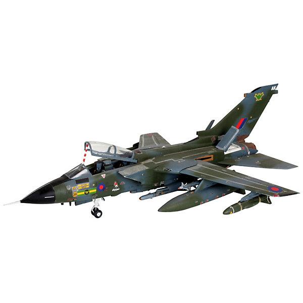 Самолет Panavia Tornado GR.1 RAF, 1:72, (4)Самолеты и вертолеты<br>Характеристики товара:<br><br>• возраст: от 10 лет;<br>• масштаб: 1:72;<br>• количество деталей: 198 шт;<br>• материал: пластик;<br>• клей и краски в комплект не входят;<br>• длина модели: 24,3 см;<br>• размах крыльев: 20,1 см;<br>• бренд, страна бренда: Revell (Ревел), Германия;<br>• страна-изготовитель: Польша.<br><br>Модель для сборки «Самолет Panavia Tornado GR.1 RAF» поможет вам и вашему ребенку придумать увлекательное занятие на долгое время и весело провести свой досуг. <br><br>Сверхзвуковой пассажирский конкорд был выпущен в Великобритании в 1969 году. Модель отличала большая мощность двигателей и высокая скорость.<br><br>В набор входят 198 пластиковых деталей, которые помогут воссоздать точную деталлизированную копию самолета. Детали можно собрать и без помощи клея, на защелки, согласно инструкции. После сборки модель можно раскрасить, следуя указаниям в инструкции. Готовый самолет украсит стол или книжную полку ребенка. Краски и клей в комплект не входят.<br><br>Процесс сборки развивает интеллектуальные и инструментальные способности, воображение и конструктивное мышление, а также прививает практические навыки работы со схемами и чертежами. <br><br>Набор для сборки «Самолет Panavia Tornado GR.1 RAF», 198 дет., Revell (Ревел) можно купить в нашем интернет-магазине.<br>Ширина мм: 355; Глубина мм: 211; Высота мм: 49; Вес г: 352; Возраст от месяцев: 168; Возраст до месяцев: 1164; Пол: Мужской; Возраст: Детский; SKU: 1772989;
